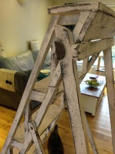 Shabby Chic Step Ladders