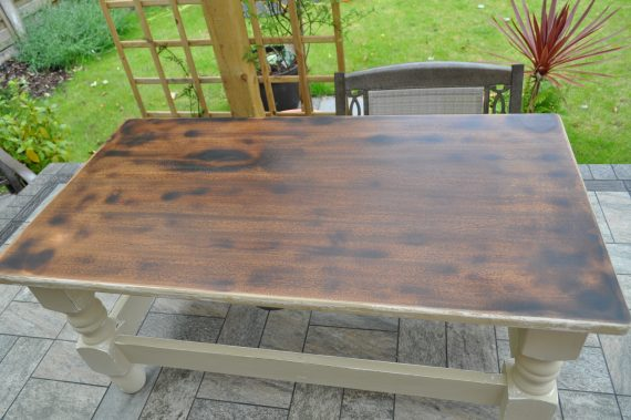 Scorched Coffee Table